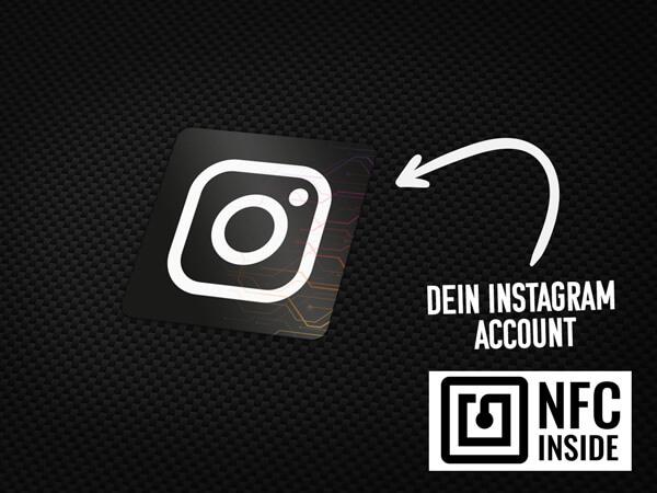 NFC Instagram Aufkleber von MotoWear Germany