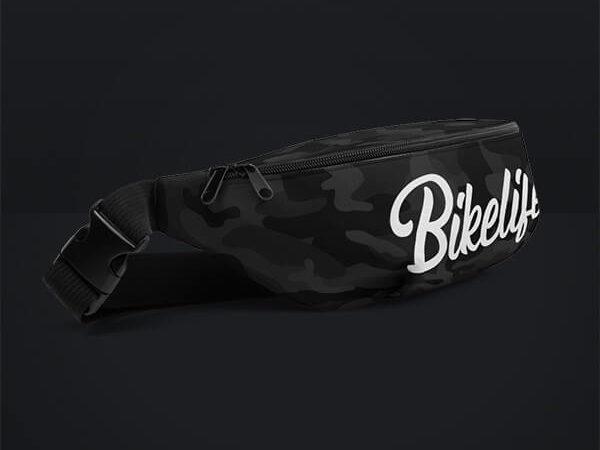 """Dark Camo """"Bikelife"""" Bauchtasche von MotoWear Germany"""