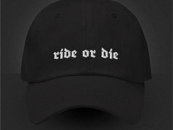 Ride or Die Baseballcap von MotoWear Germany